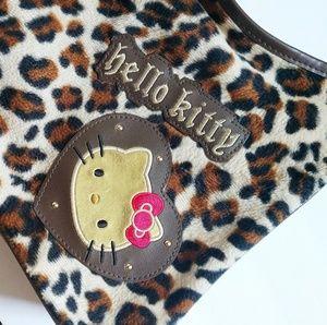 Hello Kitty Bags - Hello Kitty leopard print purse